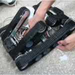 煤矿井下救援机器人设计