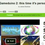 Gameduino | Gameduino 2: Arduino图形开发板